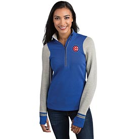 Chicago Cubs Pitch Ladies Pullover Sweatshirt