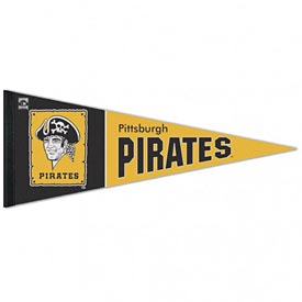 Pittsburgh Pirates 12x30 Premium Cooperstown Pennant