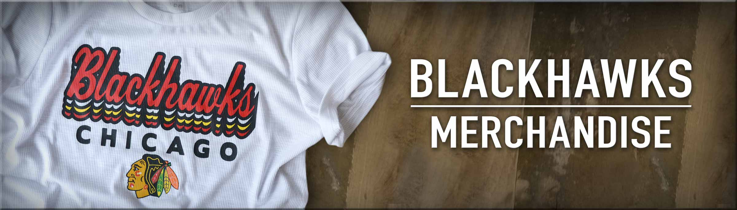 Shop Chicago Blackhawks Merchandise, including this Chicago Madison St Hockey Shirt from Bandwagon Champs