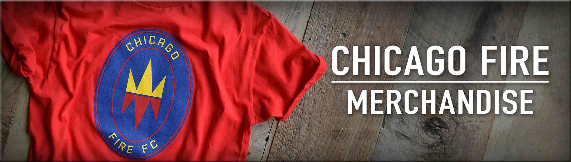 Shop Chicago Fire Merchandise, including this Chicago Fire Short Sleeve Adidas T-Shirt