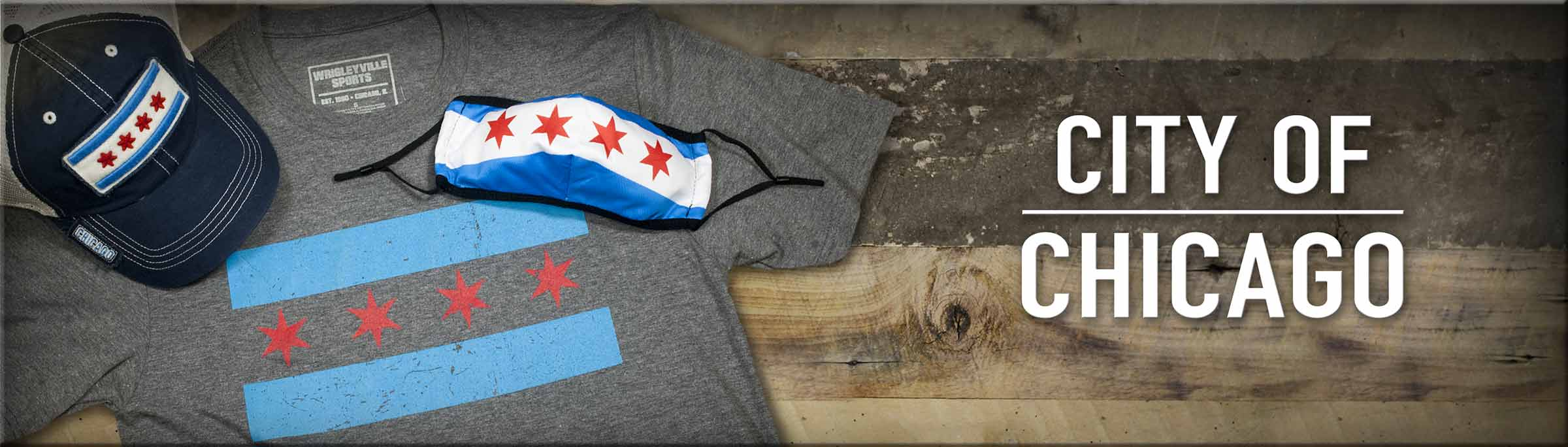 Shop City Of Chicago Merchandise, including this City Of Chicago My Kind of Town tee from Homage.