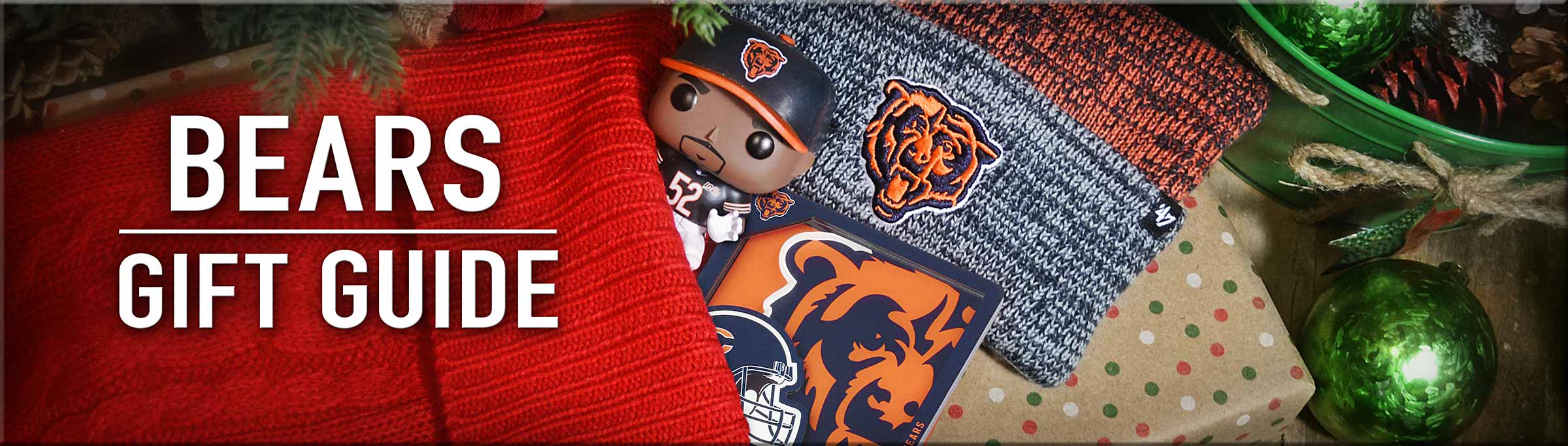 Chicago Bears Christmas Gift Guide - Everything you need for the Bears Fan on your shopping list.