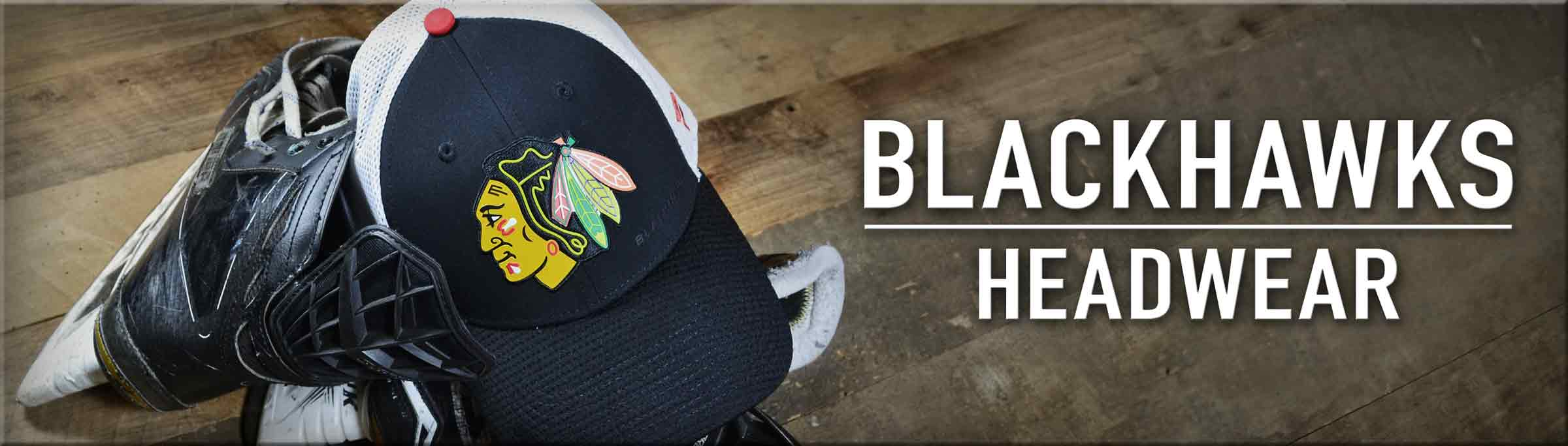 Click to Shop Blackhawks Hats