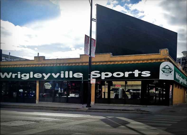 Wrigleyville Sports - Across From Wrigley Field