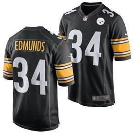 Pittsburgh Steelers Terrell Edmunds Game Team Color Jersey