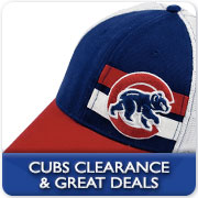 Click for Chicago Cubs Clearance Merchandise!