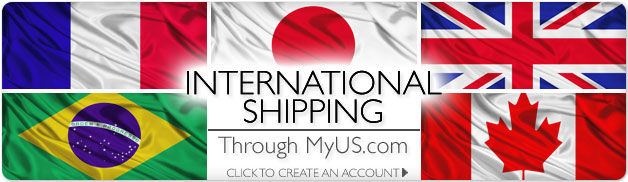 International Shipping Now Available from WrigleyvilleSports.com, through MyUS.com! Click to create an account.