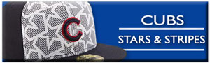 Cubs Stars and Stripes Gear