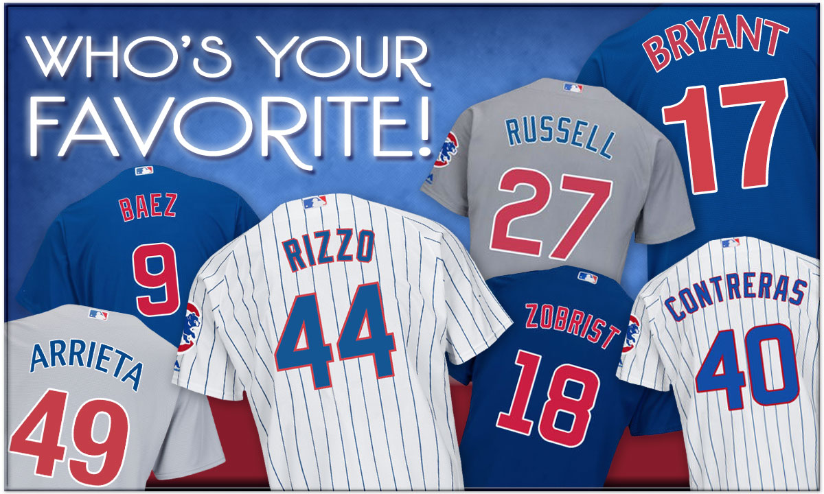 Who's Your Favorite Cub?