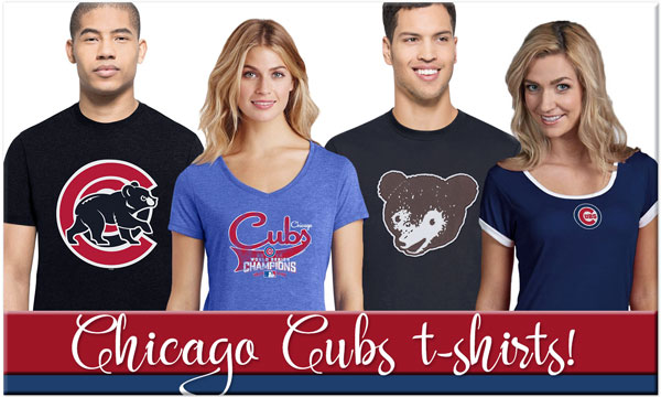 Click to Shop Chicago Cubs T-Shirts