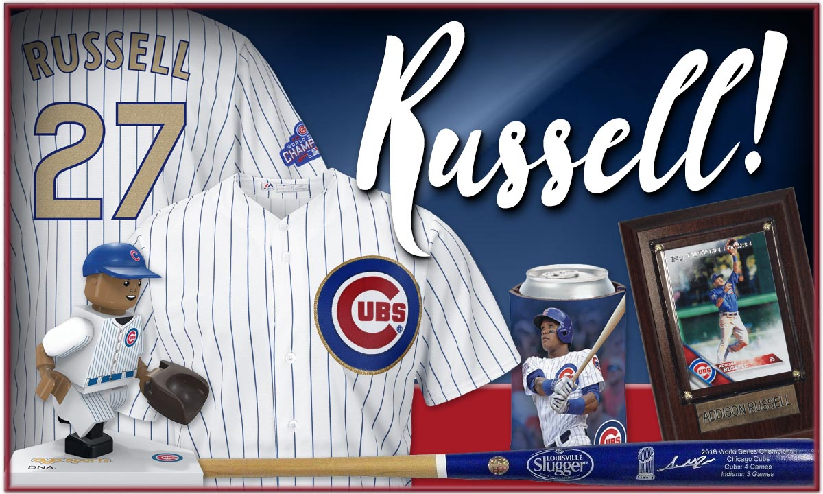 Holy Cow! Click for Addison Russell Apparel and Souvenirs