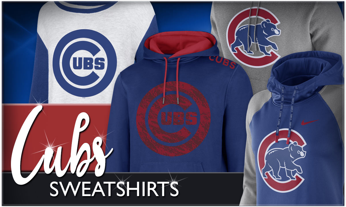 Click to Shop Chicago Cubs Sweatshirts!