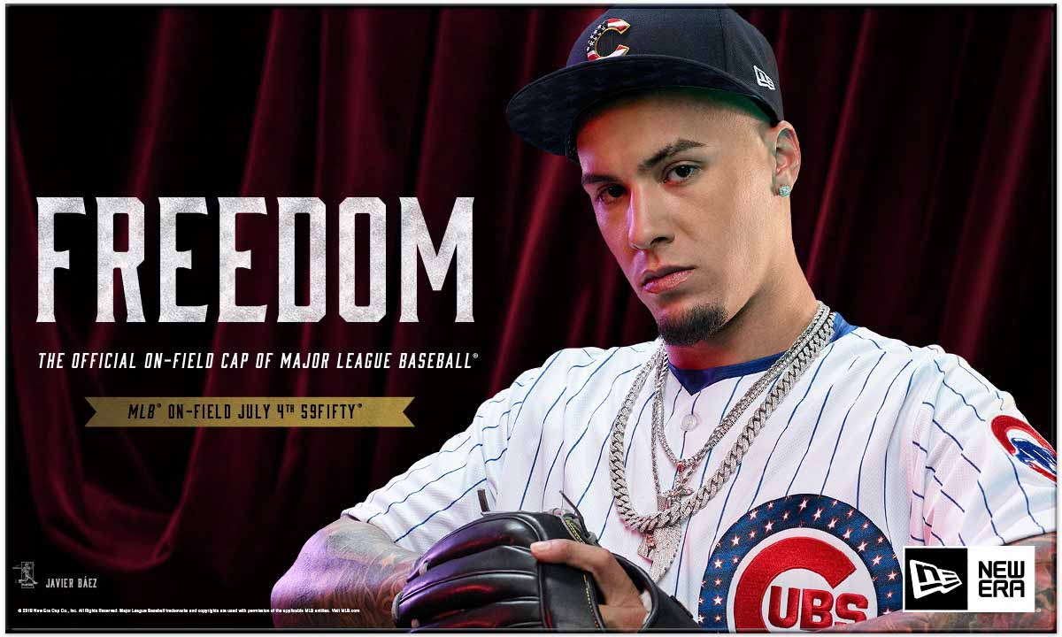 Click to shop for Chicago Cubs 4th of July Stars & Stripes jerseys and hats.