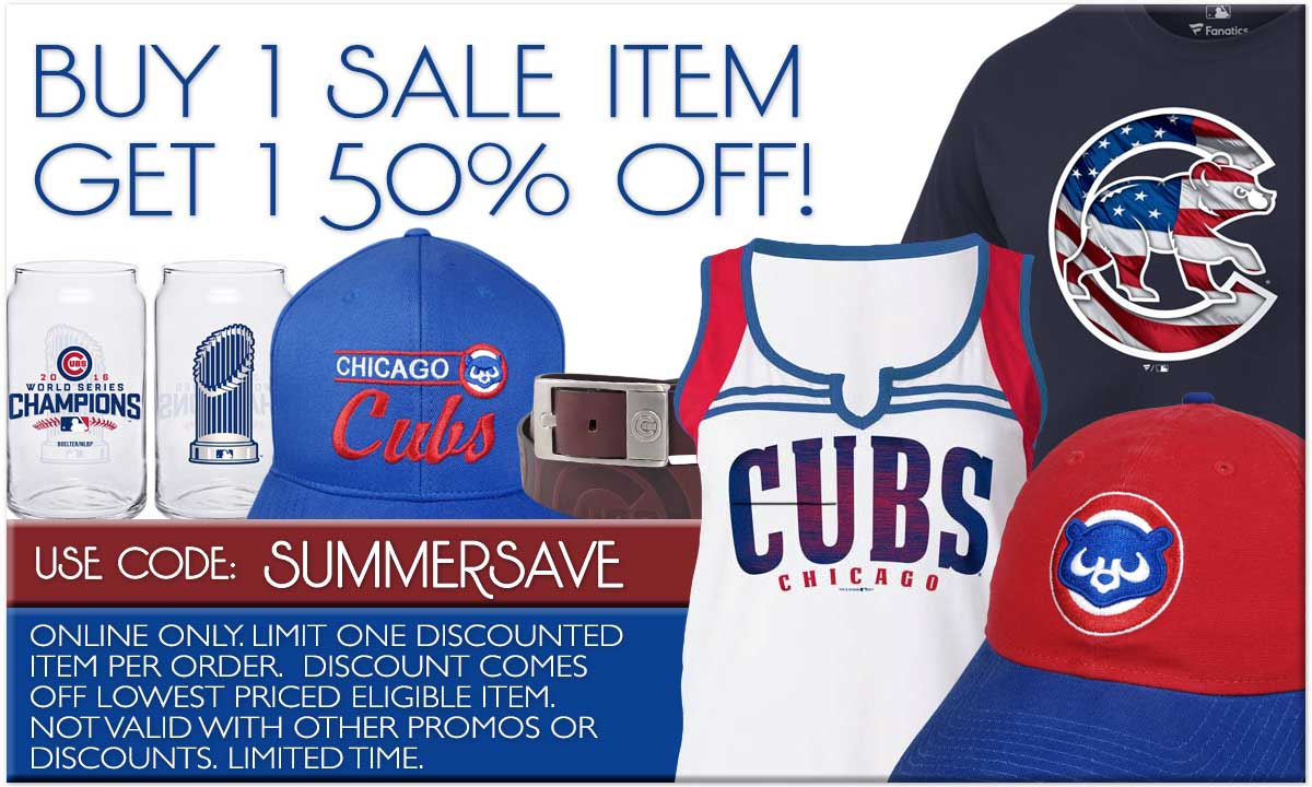 Buy 1 Sale Item, Get 1 50% Off! Exclusions Apply. Promo Code: SUMMERSAVE