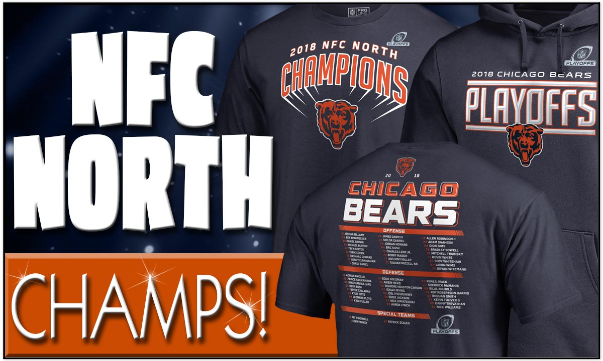 The Chicago Bears are the NFC North Division Champions