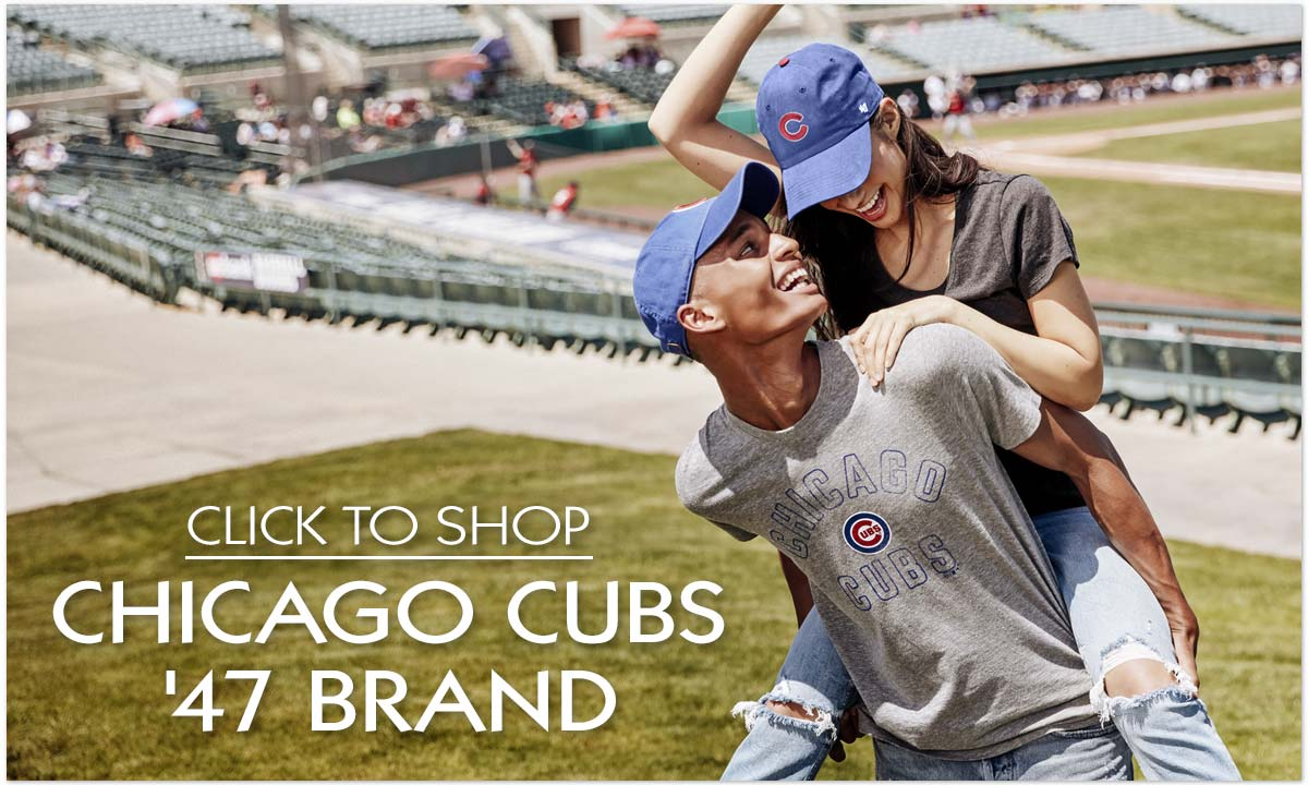 Shop Chicago Cubs '47 Brand Apparel