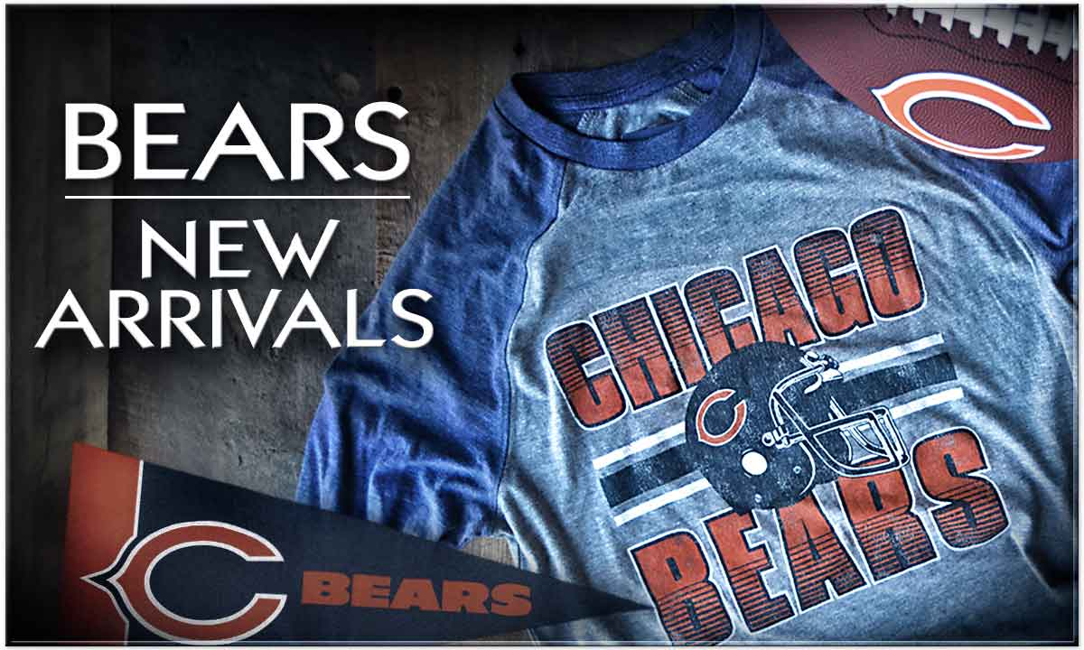 Shop Chicago Bears New Arrivals