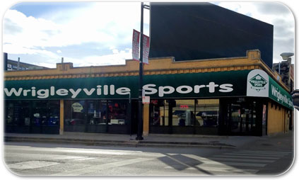 Wrigleyville Sports - 959 W. Addison St. Chicago, Illinois 60613 - 630-694-8566