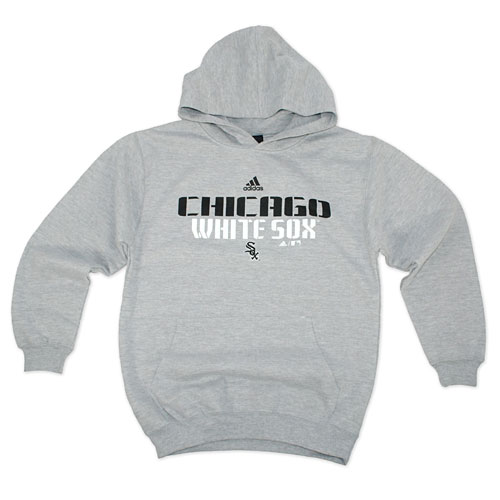 sports shoes 66268 b61c2 Chicago White Sox Youth Hard Edge Hooded Sweatshirt