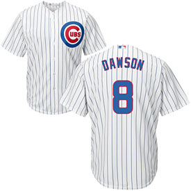 88d648bde Chicago Cubs Andre Dawson Home Cool Base Replica Jersey