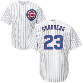 Chicago Cubs Ryne Sandberg Home Cool Base Replica Jersey