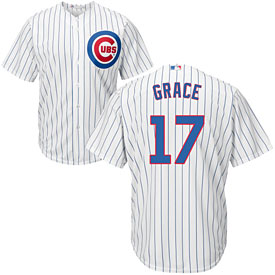 Chicago Cubs Mark Grace Home Cool Base Replica Jersey