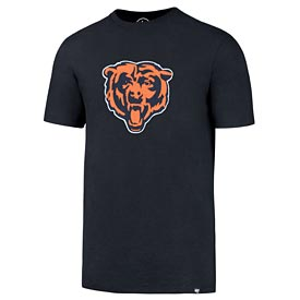 Chicago Bears Knockout Fieldhouse Navy Tee
