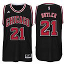 Chicago Bulls Jimmy Butler Black Swingman Jersey