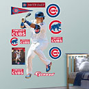 Chicago Cubs Javier Baez Batting REAL.BIG. Fathead