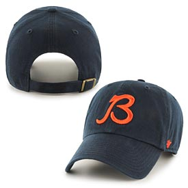 8002b6a2d184a Chicago Bears B Logo Legacy Cleanup Adjustable Cap