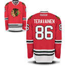 Chicago Blackhawks Teuvo Teravainen Youth Red Premier Jersey w/ Authentic Lettering
