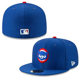 Chicago Cubs 2019 Batting Practice 59FIFTY Fitted Cap