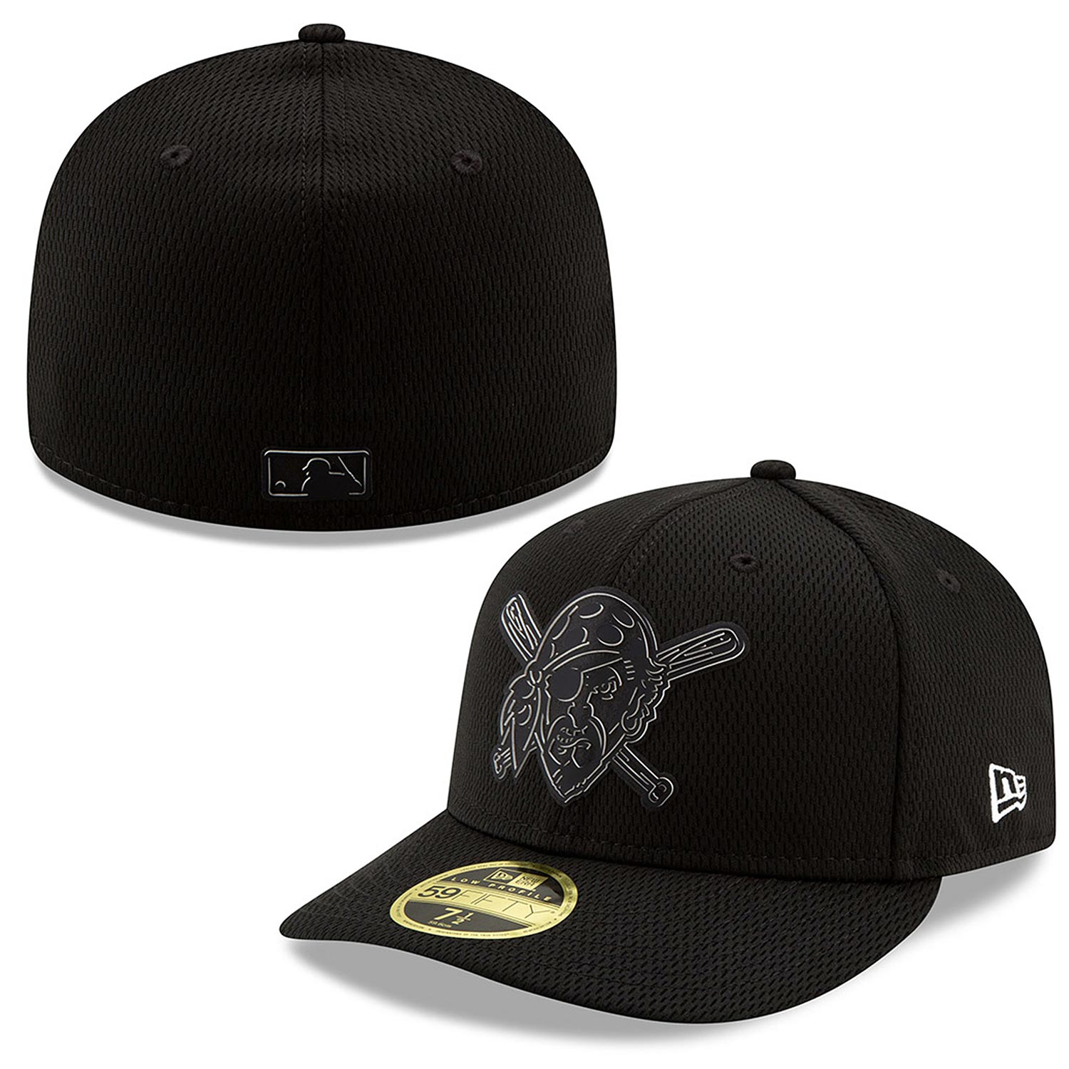 good quality fast delivery fashion Pittsburgh Pirates 2019 Black and White Clubhouse Low Profile 59 ...