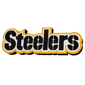 Pittsburgh Steelers 3D Foam Magnet