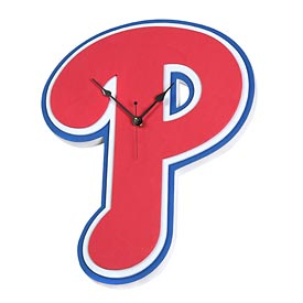 Philadelphia Phillies 3D Foam Clock