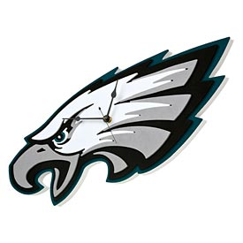 Philadelphia Eagles 3D Foam Clock