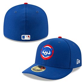 Chicago Cubs 2019 Batting Practice Low Profile 59FIFTY Fitted Cap