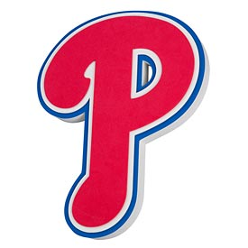Philadelphia Phillies 3D Foam Magnet