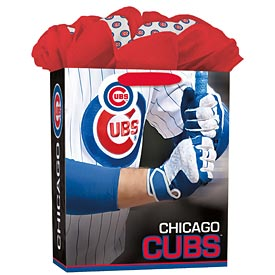 Chicago Cubs Large Grab and Go Gift Bag