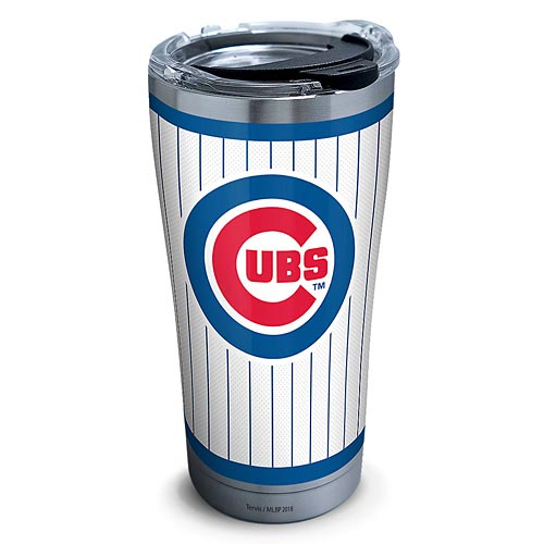 ca4b041c1f6d8 Chicago Cubs Tervis Pinstripe Stainless Steel Tumbler