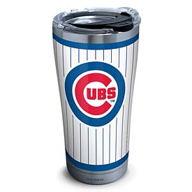 Chicago Cubs Tervis Pinstripe Stainless Steel Tumbler