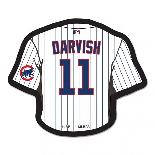 the best attitude ac7ee 776ed Chicago Cubs Yu Darvish Jersey Souvenir Pin