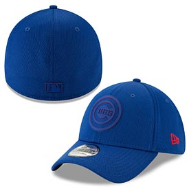 Chicago Cubs 2019 Clubhouse Flex Fit 39 Thirty Fitted Cap
