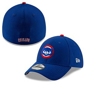 Chicago Cubs 2019 Batting Practice Flex Fit 39 Thirty Fitted Cap