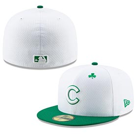 1688829fa09 Chicago Cubs 2019 St Paddy s 59FIFTY Fitted Cap