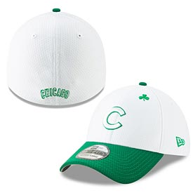 Chicago Cubs 2019 St Paddy's Flex Fit 39 Thirty Fitted Cap