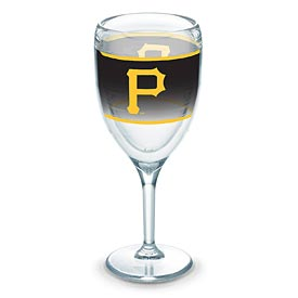 Pittsburgh Pirates Tervis 9oz Logo Wrapped Wine Glass