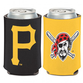 Pittsburgh Pirates Logo 2 Sided Can Cooler