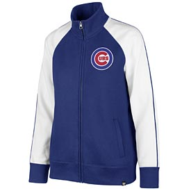 Chicago Cubs Ladies Headline Track Jacket