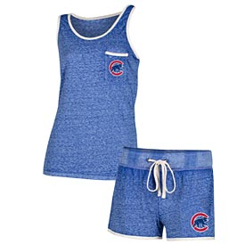 Chicago Cubs Ladies Squad Tank and Short Set